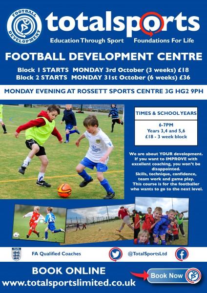 football-development-centre-poster-rossett