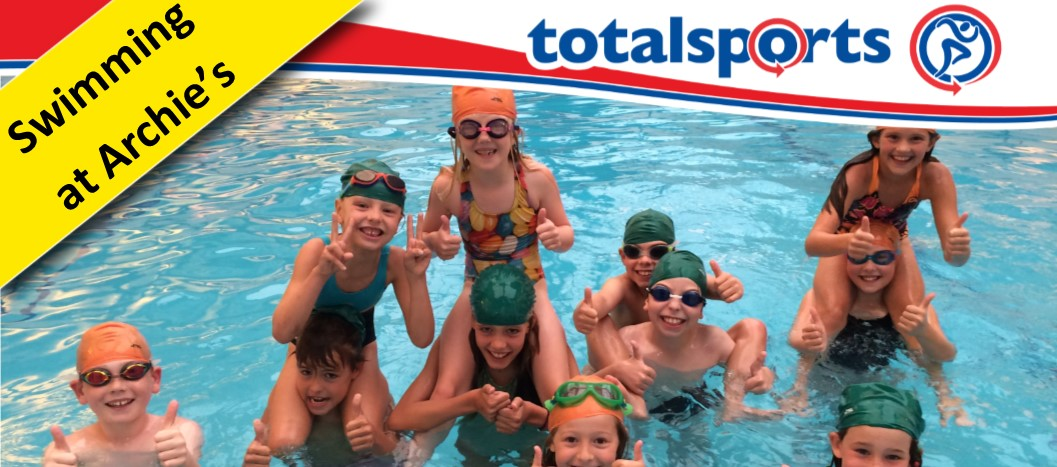 Swimming at Archie's Holiday Camps!
